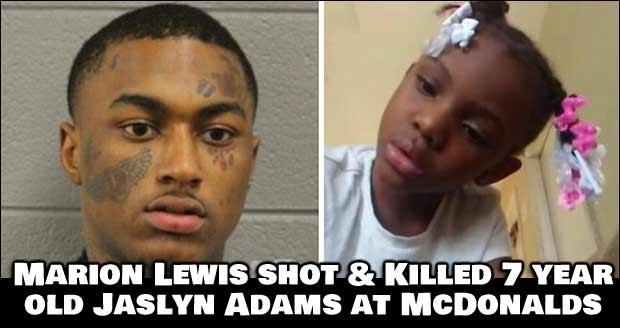 Thug Shoots 7 Year Old Girl, Killing Her at McDonalds DriveThru