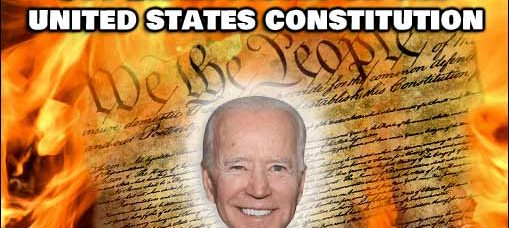 Joe Biden Just Pissed On The Constitution, Again